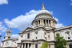 London - St. Paul's Cathedral Stock Photo