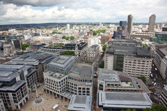 London from St Paul's Cathedral Stock Photography