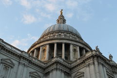 London St. Paul's Cathedral Dome Stock Images
