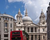 London, St. Paul's Cathedral Royalty Free Stock Photos
