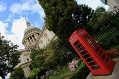 London, St. Pauls Cathedral Stock Photos