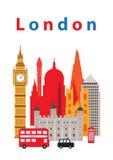 London stad Arkivbilder