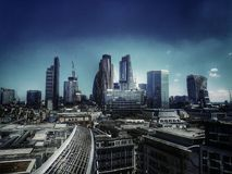 London stad Arkivfoto