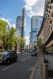 London stad, finansiell mitt Royaltyfri Bild