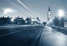 London stad Westminster stora Ben Urban Scene Concept arkivbilder