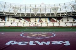 London Stadium Stock Photo