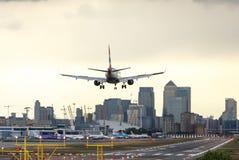 London stadsflygplats Arkivbilder