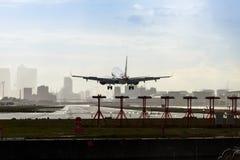 London stadsflygplats Fotografering för Bildbyråer