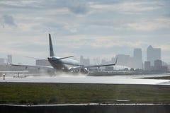 London stadsflygplats Arkivbild