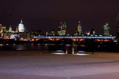 London stadshorisont Royaltyfri Fotografi