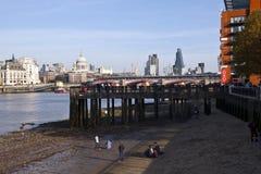 London stadssikt Fotografering för Bildbyråer