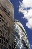 London-Stadt Skyline. Lizenzfreies Stockfoto