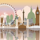 London-Stadtbild vektor abbildung