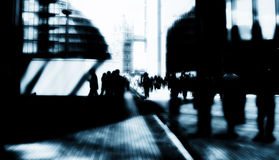 London-Stadtgeschäftsmänner Stockfotos