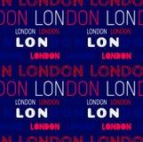 London-Stadtmuster Lizenzfreie Stockfotos
