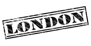 London black stamp. London stamp isolated on white background Royalty Free Stock Image