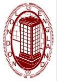 London stamp. Stock Photos