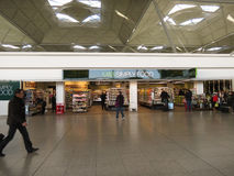 London Stansted airport interiors Royalty Free Stock Image
