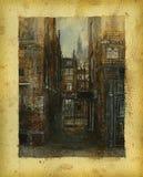 london stary Zdjęcie Stock