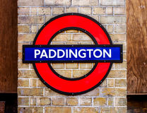 London station sign Royalty Free Stock Photography