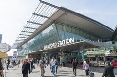 london stationsstratford Fotografering för Bildbyråer