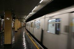 london stationstunnelbana royaltyfri bild