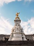 London, Statue of Queen Victoria Stock Photos