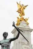 london statyer Arkivbild