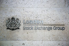 London Stock Exchange Group Royalty Free Stock Photo