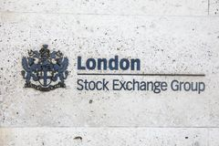 London Stock Exchange Royalty Free Stock Photos