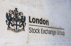 London Stock Exchange Royalty Free Stock Images