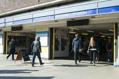 London Stockwell tube station Royalty Free Stock Image