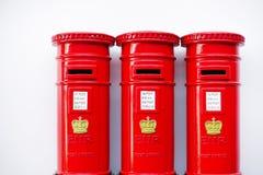 London stolpeask Fotografering för Bildbyråer