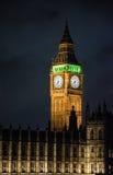London stora ben i England UK arkivfoto