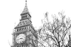 london stora ben och historisk gammal konstruktion England åldrades cit Arkivfoton