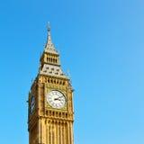 london stora ben och historisk gammal konstruktion England åldrades cit Arkivbilder