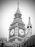 london stora ben och konstruktion England åldrades Fotografering för Bildbyråer