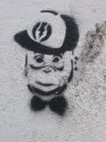 London-Straße Art In East London Lizenzfreies Stockbild