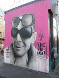 London-Straße Art In East London Lizenzfreie Stockfotos