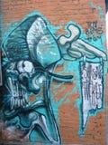 London-Straße Art In East London Stockbilder