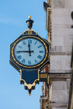 London-Straßenborduhr Stockbild