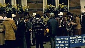 London-Stra?engebete stock footage