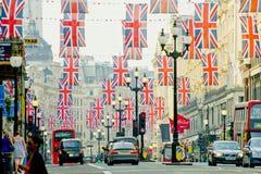 London street Royalty Free Stock Photos