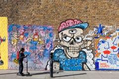 London Street Art Stock Photography