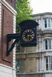 London street clock Stock Images