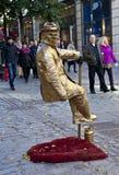 London Street Entertainer/Busker Stock Photos