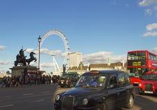 On the London street. Stock Photo