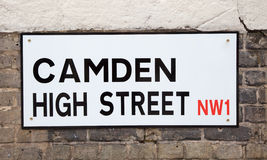 London street sign Royalty Free Stock Images