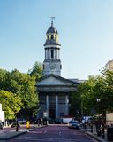 Small church in London Stock Photography