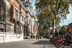 London streets in Great Britain Stock Image